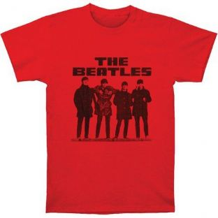 The Beatles T Shirt - Red 2
